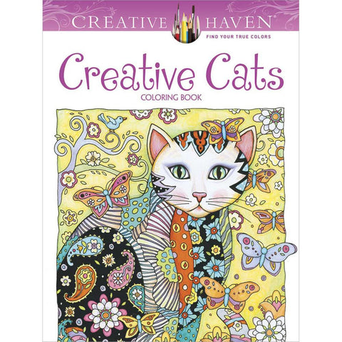 Creative Cats Coloring Book • Dover Publications Coloring Book • Creative Cats Colouring Book