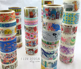 Concert in Forest Japanese Washi Tape Aimez