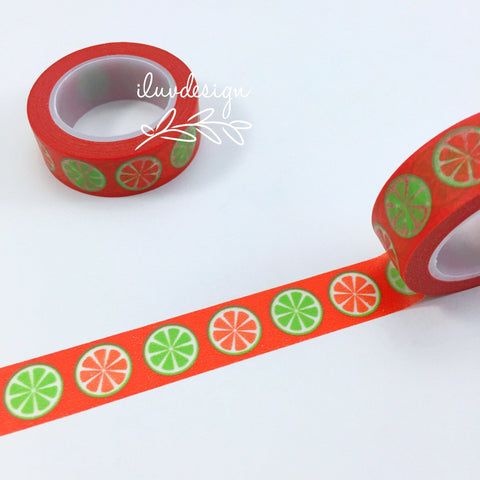 Citrus Washi Tape