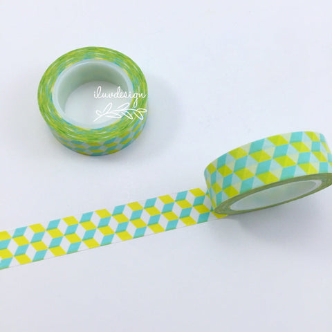 Geometric Washi Tape • Geometric Patterns Decorative Tape