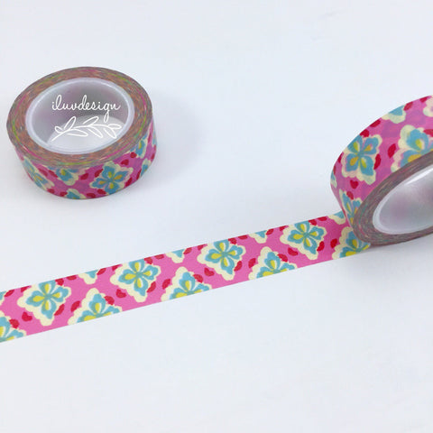 Damask Floral Washi Tape