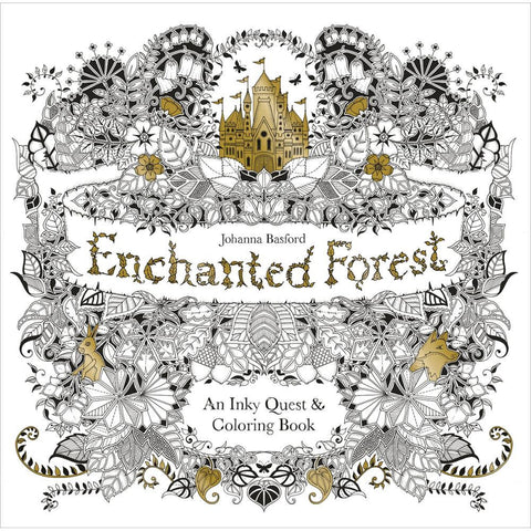 Enchanted Forest Coloring Book • Chronicle Books Coloring Book