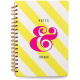 "Notes & Things Designer Desktop Essentials Journal 7""X10"" American Crafts"