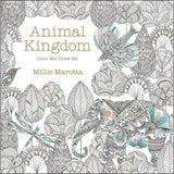 Animal Kingdom Color Me, Draw Me Coloring Book • Lark Books Coloring