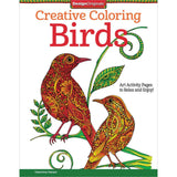 Creative Coloring Birds Coloring Book • Design Originals Coloring Book