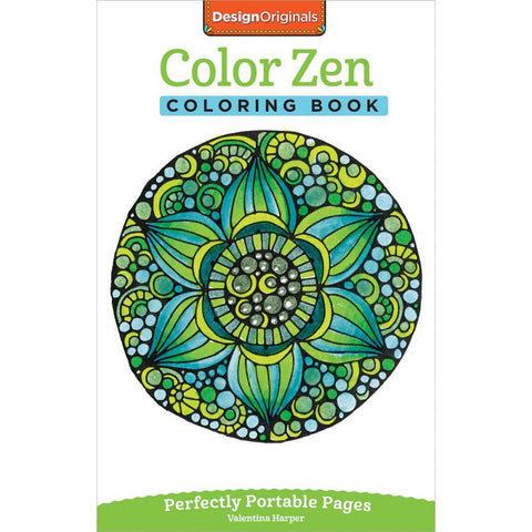 Color Zen Coloring Book • Design Originals Coloring Book
