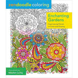 Zendoodle Coloring Enchanting Gardens Coloring Book • St. Martin's Books Coloring Book
