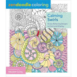 Zendoodle Coloring Calming Swirls Coloring Book • St. Martin's Books Coloring Book