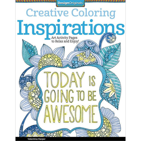 Creative Coloring Inspirations Coloring Book • Design Originals