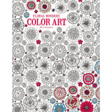 Floral Wonders Color Art Coloring Book • Leisure Arts