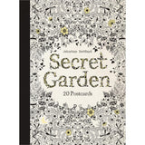 Secret Garden Post Cards Coloring Book • Chronicle Books Postcard Coloring Book