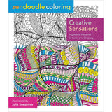 Zendoodle Coloring Creative Sensations Coloring Book • St. Martin's Books Coloring Book