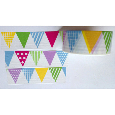 Colorful Bunting Washi Tape