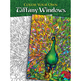 Color Your Own Tiffany Windows Coloring Book • Dover Publications