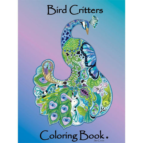 Bird Critters Coloring Book • EarthArt Coloring Book