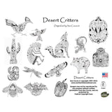 Desert Critters Coloring Book • EarthArt Coloring Book