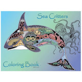 Sea Critters Coloring Book • EarthArt Coloring Book