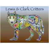 Lewis & Clark Coloring Book • EarthArt Coloring Book