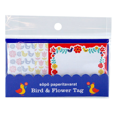 Bird & Flower Sticky Notes • Fruit Pattern Sticky Notes • Amifa Memo Pads