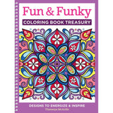 Fun & Funky Coloring Book Treasury • Design Originals