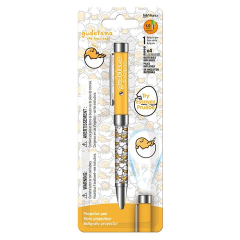 Gudetama Projector Pen • 1.0mm Ballpoint Pen Ink Works