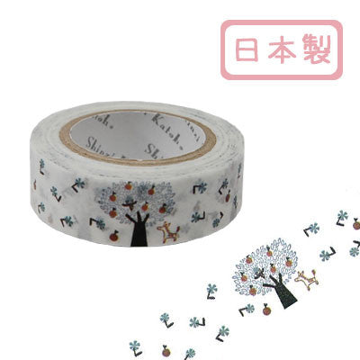 Apple Tree Masking Tape • Shinzi Katoh Design Japanese Washi Tape