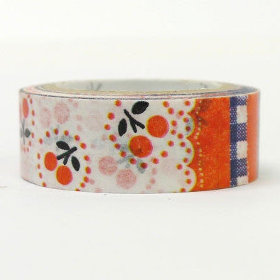 Cherry Masking Tape • Shinzi Katoh Design Japanese Washi Tape