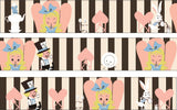 Alice's Tea Party Masking Tape • Shinzi Katoh Design Japanese Washi Tape
