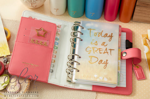 Personal Planner Kit Light Pink Webster S Pages Color Crush Free