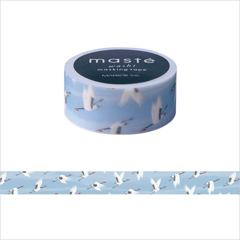 Crane Japanese Washi Tape • Japan Masté Masking Tape