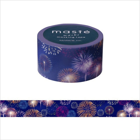 Fireworks Japanese Washi Tape • Japan Masté Masking Tape