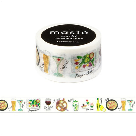 Bar Japanese Washi Tape • Amazing Life Masté Masking Tape