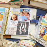 A5 Variety Photo Sleeve Pack (8/pkg) Webster's Pages Planner Pocket Photo Pages for A5 Planner