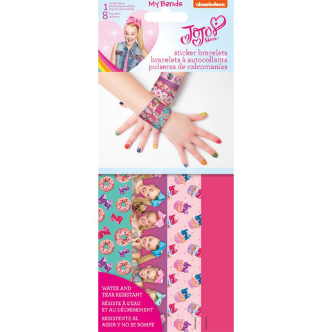 JoJo Siwa My Bands Sticker Bracelets.
