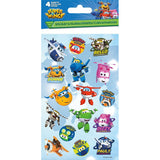Super Wings Stickers. Fill your treat bags or boxes with these awesome stickers and let your guests go wild. Your little guests will love them for sure