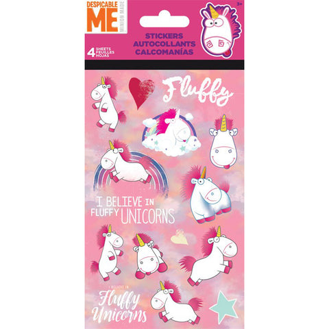 DMF Unicornicopia Fluffy Standard Stickers 4 sheet