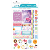 Kawaii Paper House Life Organized Planner Stickers 95pcs