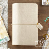 Travelers Planner Champagne Color Crush Webster's Pages • FREE WASHI TAPE
