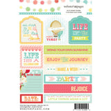 "Party Time Tag & Prompt Stickers 4""X6"" • Webster's Pages"