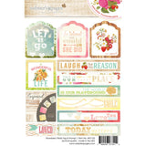 "Strawberry Fields Tag & Prompt Stickers 4""X6"" • Webster's Pages"
