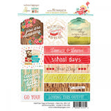 "Hall Pass Tags & Prompts Stickers 4""X6"" • Webster's Pages"