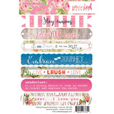 "Painted Passport Sentiments Stickers 4""X6"" • Webster's Pages"