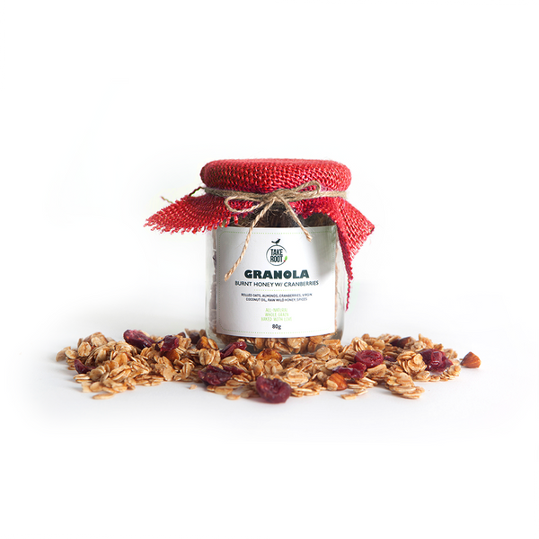Granola Holiday Jar