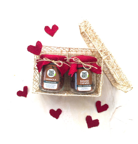 Hungry Hearts Gift Set