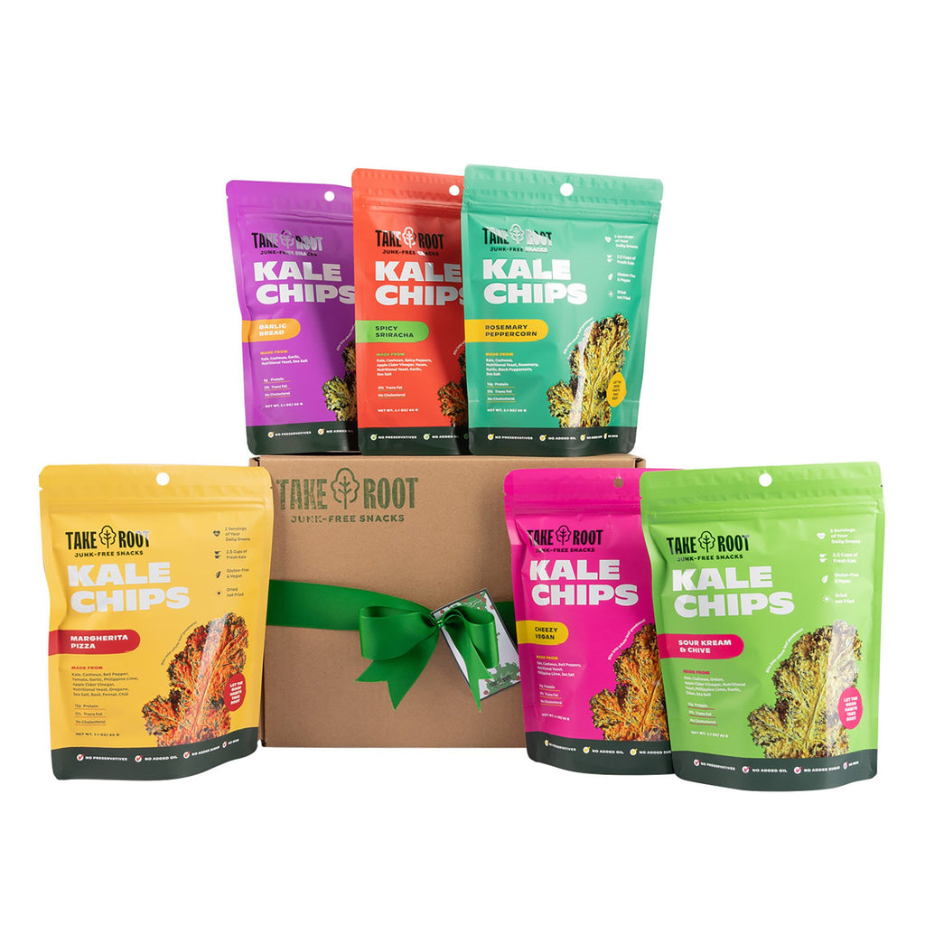 The Kale Chips Holiday Box
