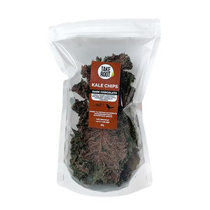 Dark Chocolate Kale Chips