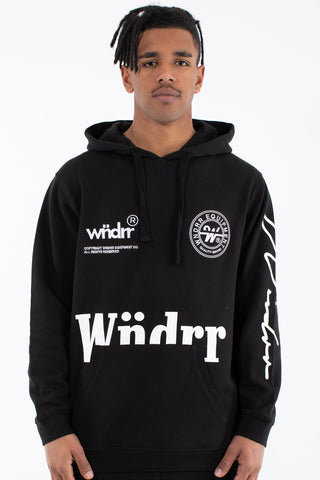 BOUNTY HOOD SWEAT - BLACK