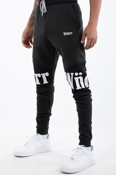 HAMILTON TECH TRACKPANT - BLACK