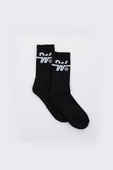 OVERTIME SOCKS 3PK - BLACK