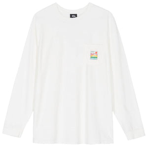 SIERRA POCKET LS TEE - WHITE